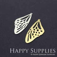 1pcs Butterfly Wing Charm Pendant Fit For Necklace Earring Brooch GDSD188