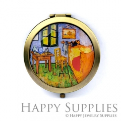 1pcs House Handmade Photo Pocket Mirror GS42
