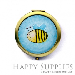 1pcs Bee Handmade Photo Pocket Mirror GS27