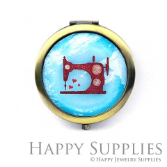 1pcs Sewing machines Handmade Photo Pocket Mirror GS29