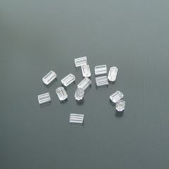 150pcs-4g 3x2.2mm Clear Rubber Earring Back Stoppers (16913)