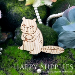 2Pcs Large Handmade Lovely Cat Charms Pendants