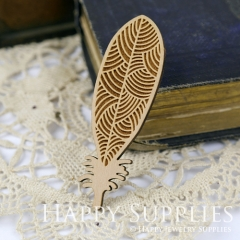 2Pcs Large Handmade Lovely Feather Charms Pendants