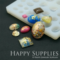 1 Set Silicone Mold For Beads Different Shapes DIY Resin Bead BM031-1