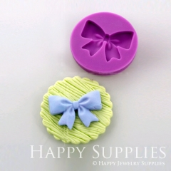 1 pcs Silicone Mold For Bow Cake Decoration Bow Mould DIY Resin Bow BM029