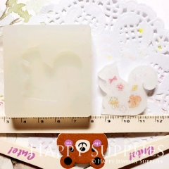 1 pc Silicone Mold For Squirrel Cube Bead 32mm Squirrel DIY Resin Squirrel BM054
