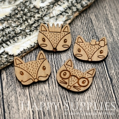 2Pcs Large Handmade Lovely Animal Charms Pendants LC055
