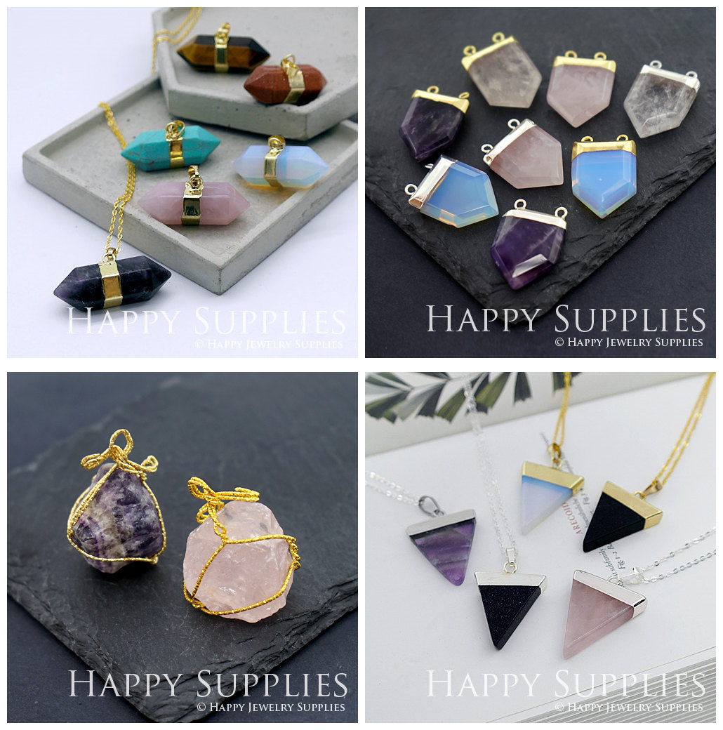 Gemstone for jewelry making supplies - Happy Jewelry Supplies