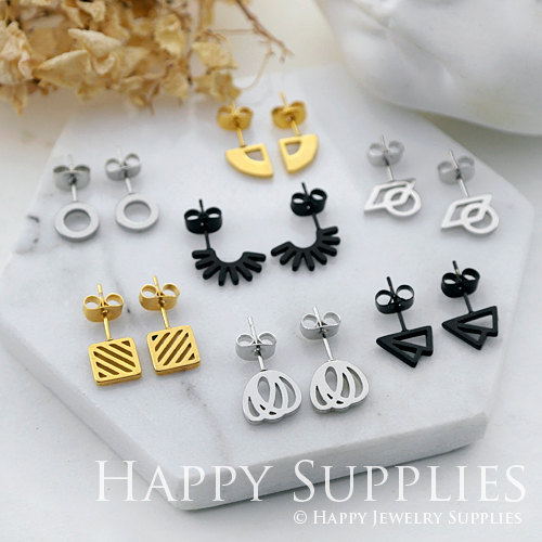 Stud Earrings for jewelry making supplies - Happy Jewelry Supplies