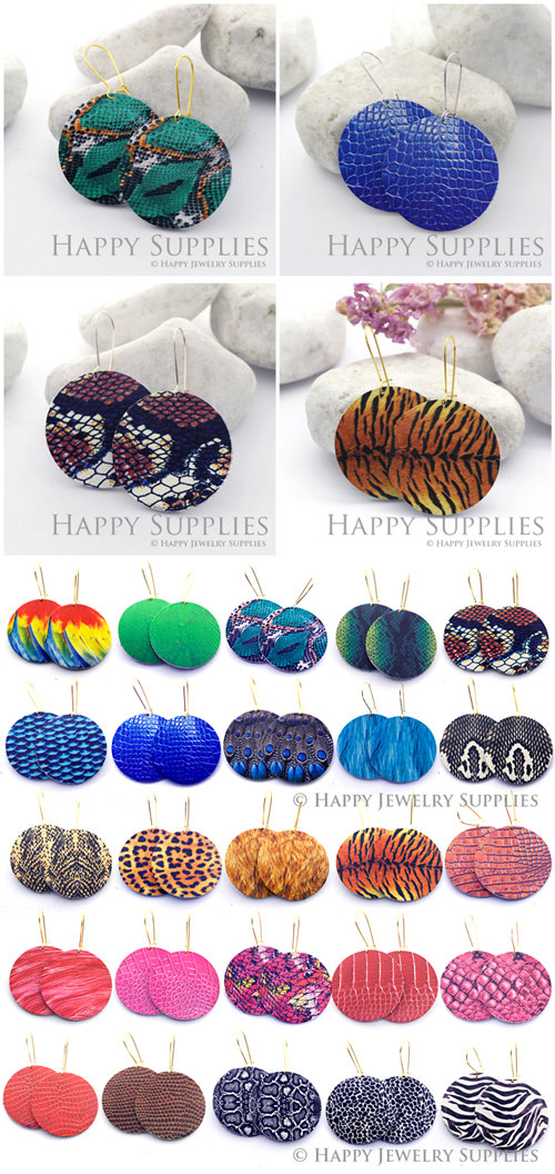 Leather Jewelry - Happy Jewelry Supplies