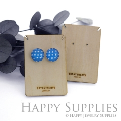 Wooden Necklace Cards - Custom Order Available  (WTG01-S)