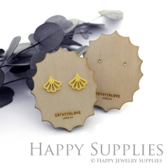 Wooden Earrings Cards - Custom Order Available  (WTG038)