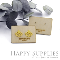 Wooden Earrings Cards - Custom Order Available  (WTG026-S)