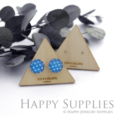 Wooden Earrings Cards - Custom Order Available  (WTG034)