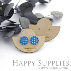 Wooden Earrings Cards - Custom Order Available  (WTG040)