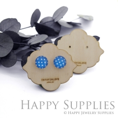 Wooden Earrings Cards - Custom Order Available  (WTG039)