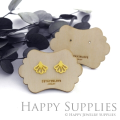 Wooden Earrings Cards - Custom Order Available  (WTG041)