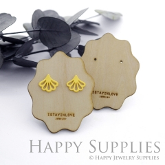 Wooden Earrings Cards - Custom Order Available  (WTG037)