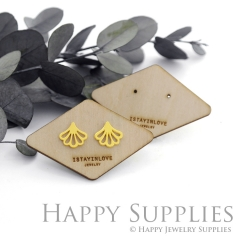 Wooden Earrings Cards - Custom Order Available  (WTG043)