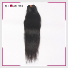 Brazilian Straight remy  Human Hair 1pcs