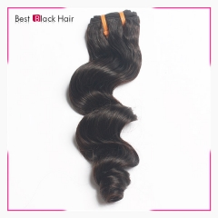 Brazilian Best Black Human Hair Loose Curly 1pcs