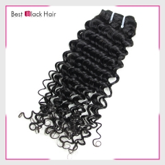 8-30 Inch Good Grade Full End Brazilian Hair Unprocessed Hair Extension Deep Wave