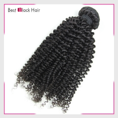 8-30 Inch Good Grade Cheap Real Brazilian Remy Hair Weave Kinky Curl
