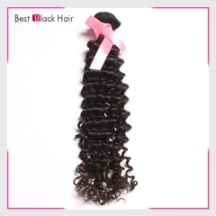 【 Top Grade 1PC】Curly Bundles No Tangle Virgin Brazilian Human Hair 1PC Bundles Curly