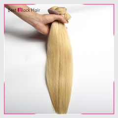 12-30 Inch #613 Honey Blonde Top Grade Straight virgin Hair Weave 100g/bundle