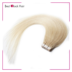 18-24 Inch Straight Tape Hair Extension 60#  tape in remy hair skin weft human hair extension
