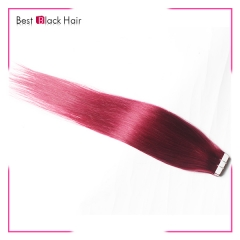 18-24 Inch Straight Tape Hair Extension bug  tape in remy hair skin weft human hair extension