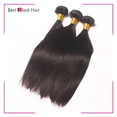 8-30 Inch Super Grade Soft Brazilian human hair weave natural straight natural color