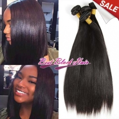8-26 Inch Good Quality Cheap Human Hair Weave straight 3 bundles/ 4 bundles  Free Shipping