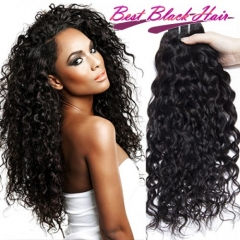 Super Grade 100% Unprocessed Peruvian Hair Italian Curly 3 Bundles Free Shipping