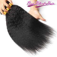 8-26 Inch Good Quality Cheap Human Hair Weave Kinky Straight 3 bundles/ 4 bundles  Free Shipping