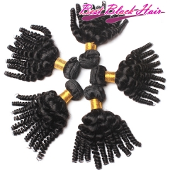 8-26 Inch Good Quality Cheap Human Hair Weave Funmi Wave 3 bundles/ 4 bundles  Free Shipping