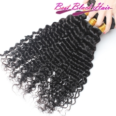 8-26 Inch Good Quality Cheap Human Hair Weave Deep Wave 3 bundles/ 4 bundles  Free Shipping