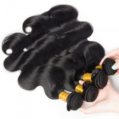 8-30 Inch Top Grade 100% Unprocessed Brazilian Hair Body wave 4 Bundles Free Shipping