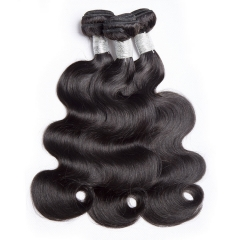 【12A 4PCS】Brazilian Body Wave Bundle 3 Pcs 8-30 inch Mix Lengths Human Hair Weave Bundles