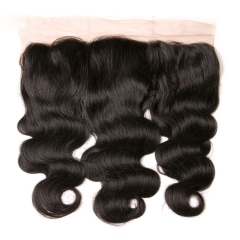 12A Lace Frontal Body Wave 13x4 Frontal Closure Natural  100% Human Hair Frontal Lace Closure Virgin Hair