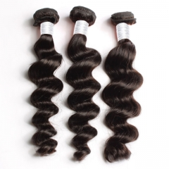 【12A 4PCS】 Malaysian Loose Wave Hair Bundles Loose Wave Malaysian Virgin Human Hair No Shedding No Tangle Free Shipping