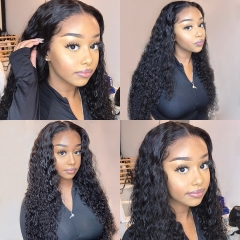 13*6 LACE FRONTAL DEEP CURLY/ DEEP WAVE WIG 150% DENSITY