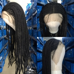SYNTHETIC HAIR BRADING HAIR WIG 24 INCHES