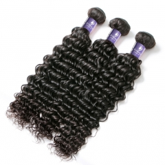 3PCS HUMAN HAIR BUNDLES DEEP WAVE