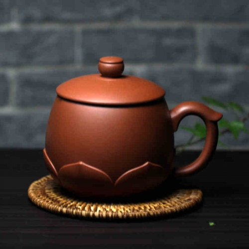HN042Chinese teacup Tea Accessories Traditional Design Yixing Purple Clay Pots wholesale