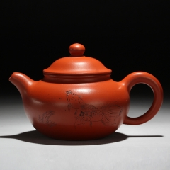 Chinese Teapot Tea Accessories Traditional Design Yixing Purple Clay Pots wholesale(H152)
