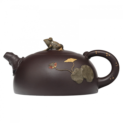 yixing teapot clayteapot chinese pot purple clay HL001(044)