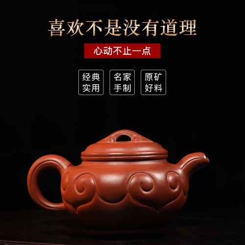 yixing teapot clayteapot chinese pot hongpilong clay HL001(051)
