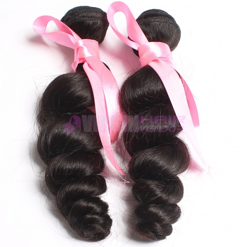 Women favorite great lengths hair extensions Maylaysian loose wave hair