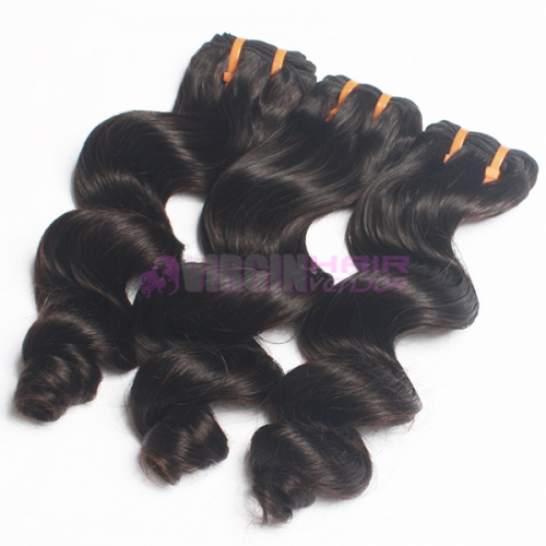 Factory directly sell soft loose curl 100% peruvian hair
